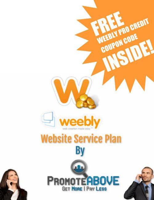 Promote Above Weebly Service Digital FlipBook