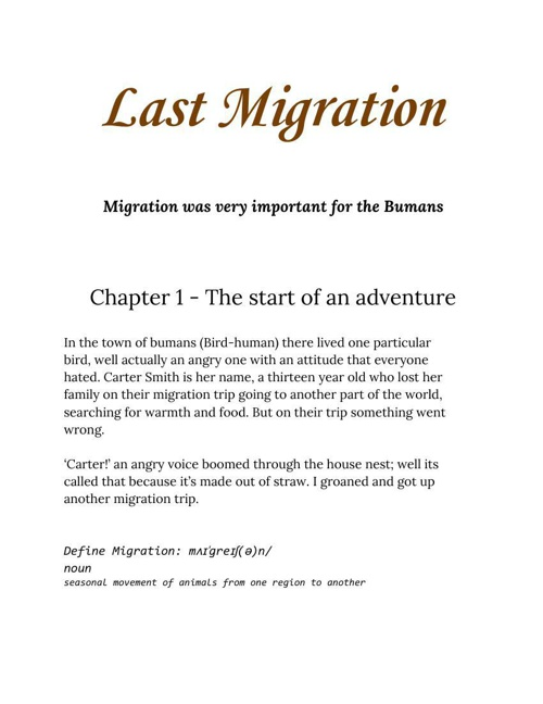 Last Migration