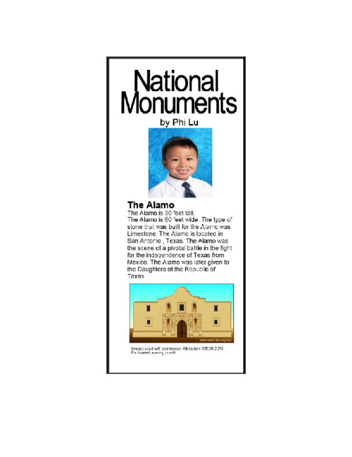 U.S. Monuments by Phi L