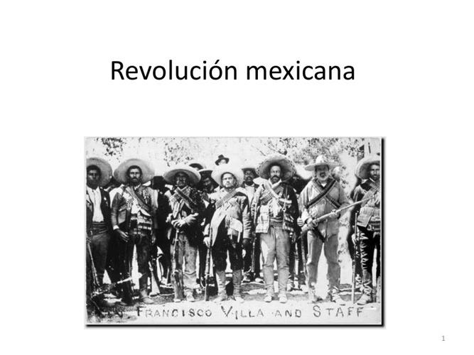 Revolución mexican anit