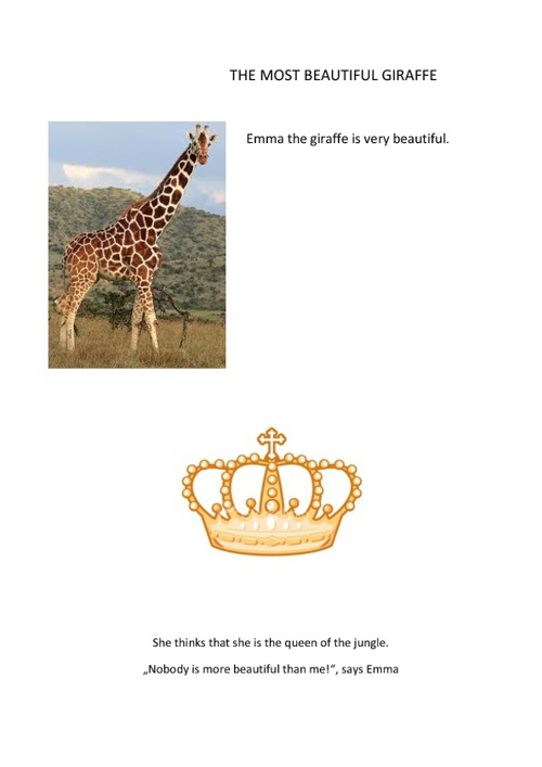 THE MOST BEAUTIFUL GIRAFFE
