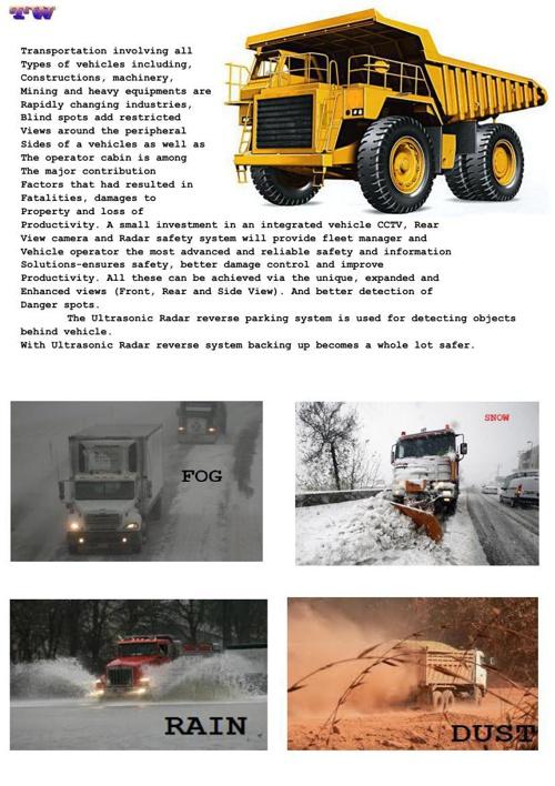 5&10 Truck video parking sensor