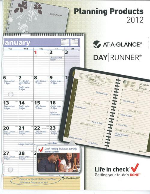 2012 Calendar Catalog