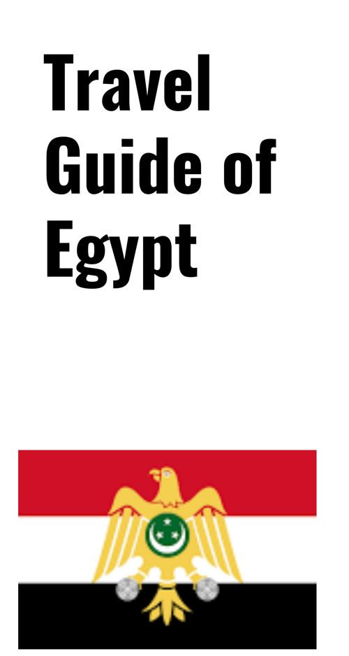 Travel Brochure of Egypt