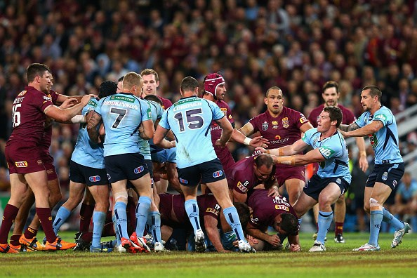 NSW (Blues) vs QLD (Maroons) Live Game 1