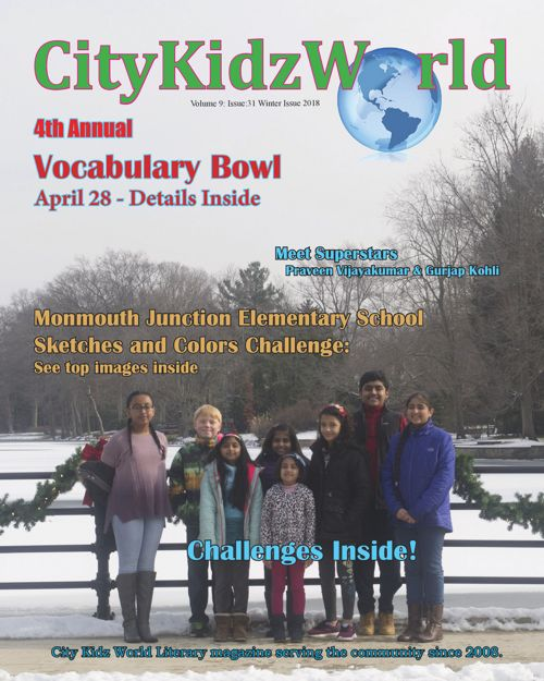 City Kidz World literary magazine: Issue 31, Volume  9: 2018