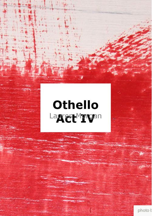 Othello Act IV