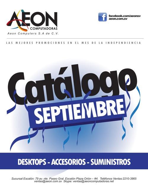 Catálogo Septiembre