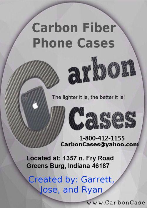 Carbon Fiber Phone Cases