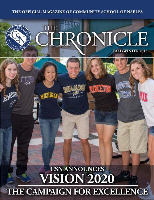 Chronicle WInter 2015