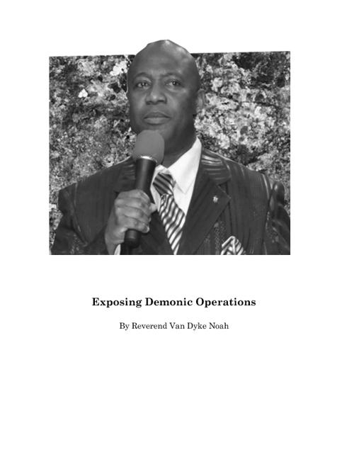 Vandyke Noah Ministries Book