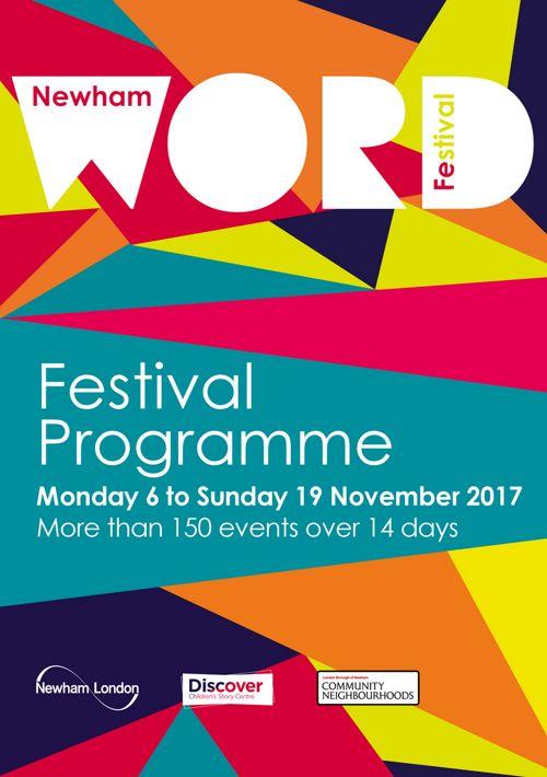 Newham Word Festival Programme