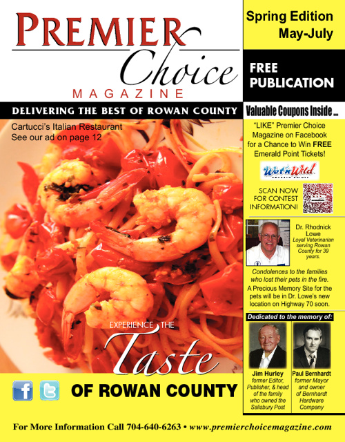 Premier Choice Magazine Spring Edition 2012