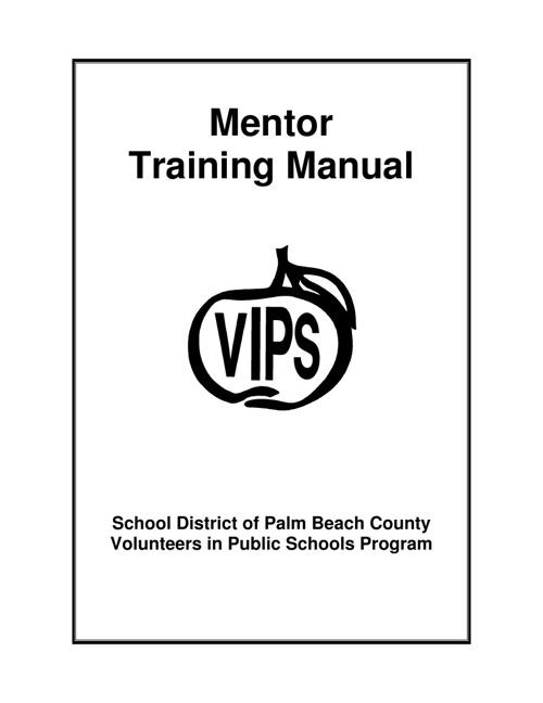 Mentor Training Manual