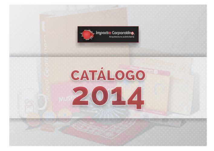 Catálogo 2014 - Impacto Corporativo