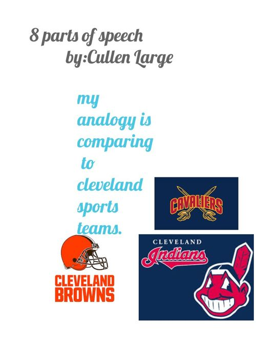 cleveland sports and city sky line