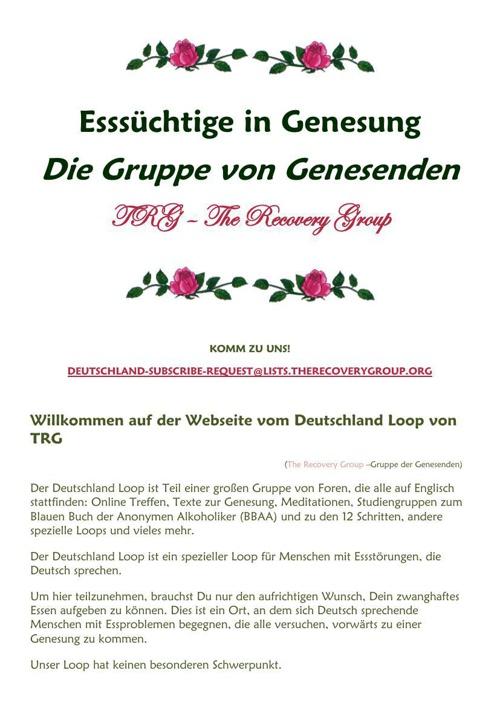 Eßsüchtige in Genesung korr (TRG's Deutschland Loop)