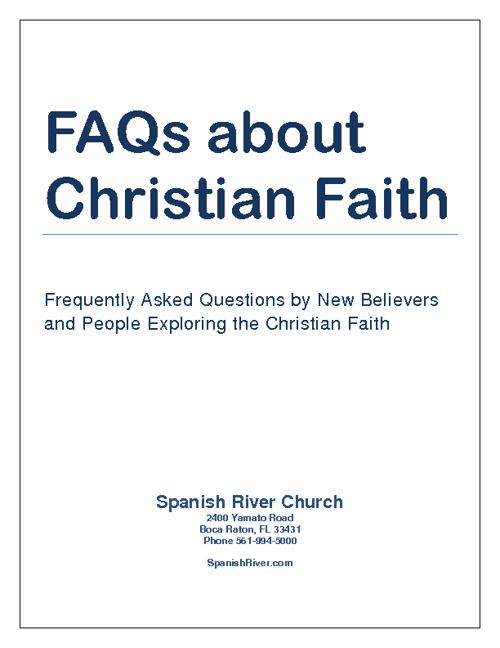 FAQs About the Christian Faith
