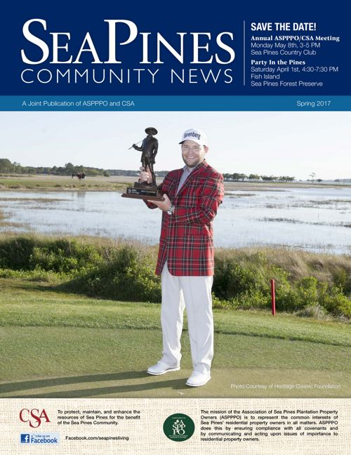 Spring 2017 Sea Pines Newsletter