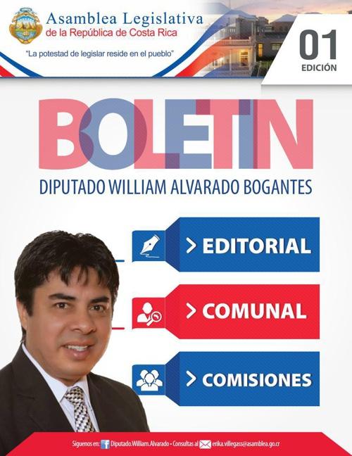 Boletin William Alvarado 1