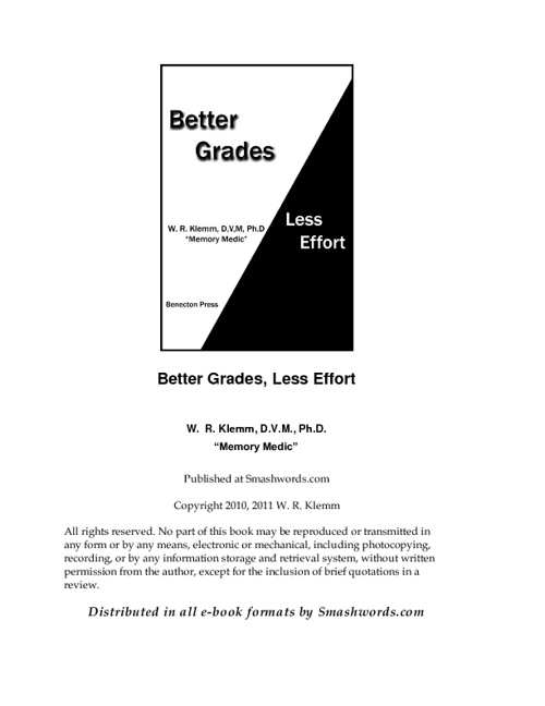 Better Grades. Less Effort