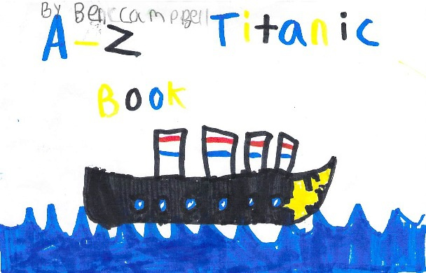 A-Z Titanic Book by Ben C.