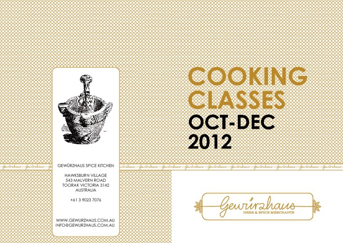 Cooking Classes 2012