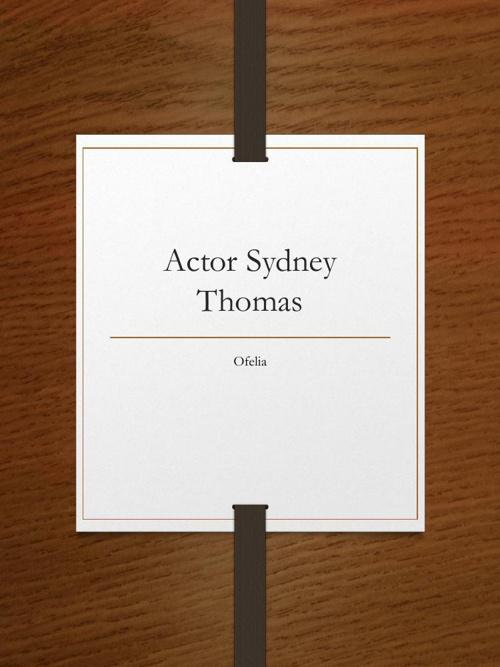 Sydney Thomas Journal