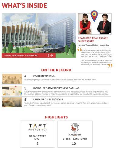 Filipino Homes Real Estate & Tourism Magazine Vol 1 ISSUE 3