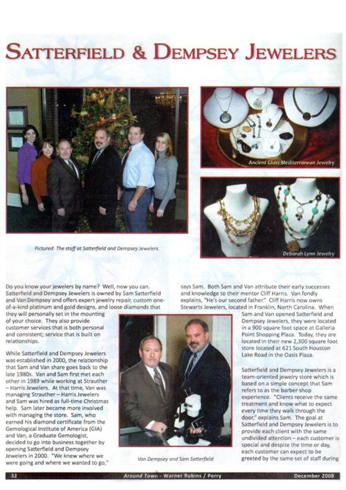 satterfield and dempsey press jewelers