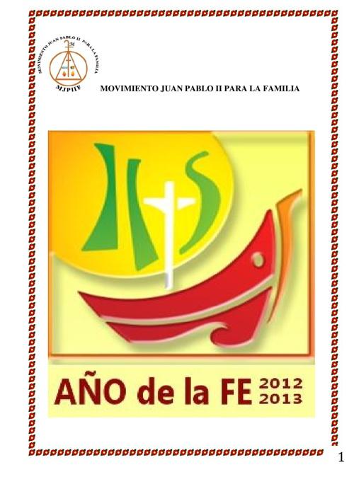 H.S. AÑO DE LA FE 2013