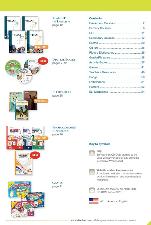 ELI Catalogue