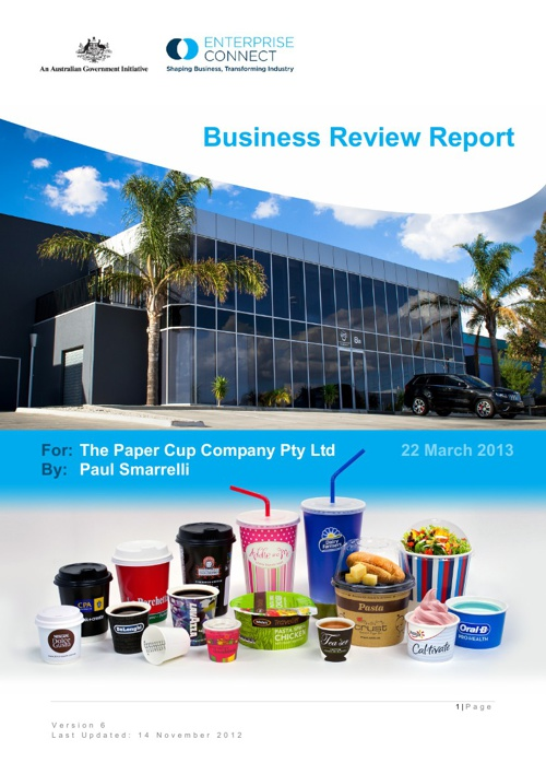 Business Review Report