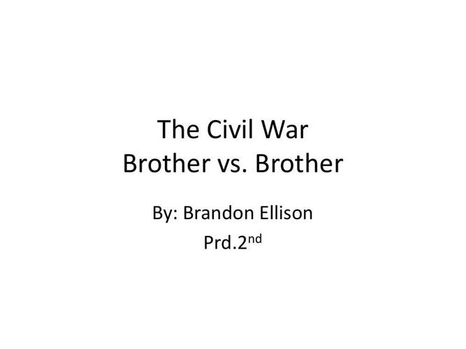 Ebook Civil War Slide Show