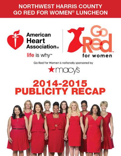 Northwest Harris County Go Red For Women Luncheon - Recap 2015