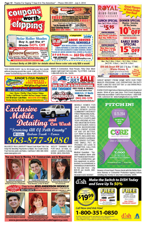 The Advertiser 07.03.14