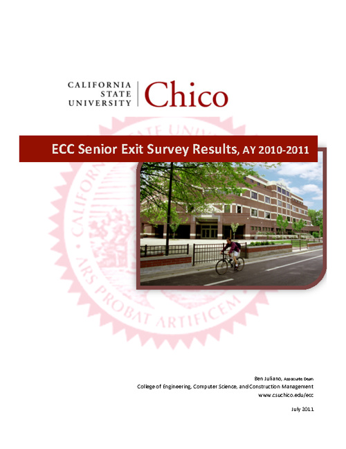 ECC Senior Survey Results 2010-2011