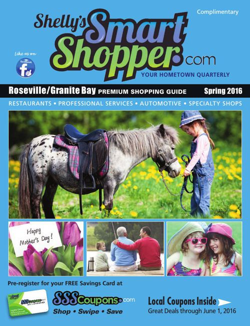 Shelly's Smart Shopper Roseville Spring 2016