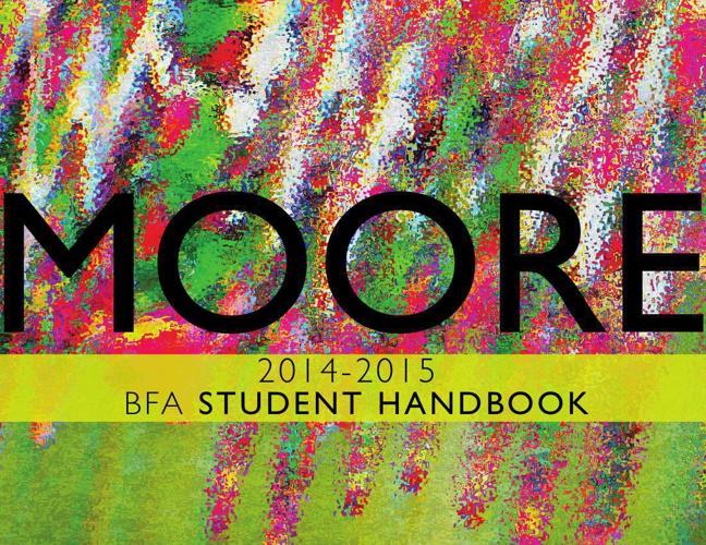 BFA Student Handbook 2014-2015