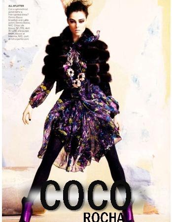 Coco Rocha - Portfolio