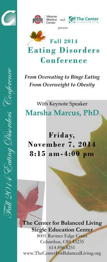 Fall 2014 Eating Disorders Conference
