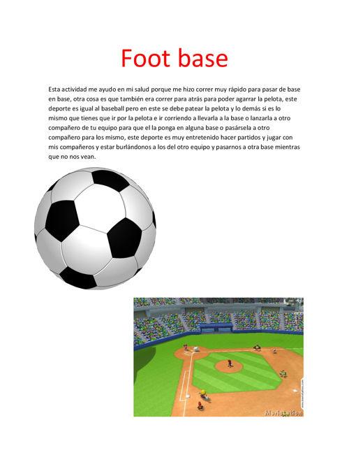 Foot base