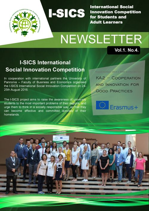 I-SICS Newsletter Vol.1. No.4.