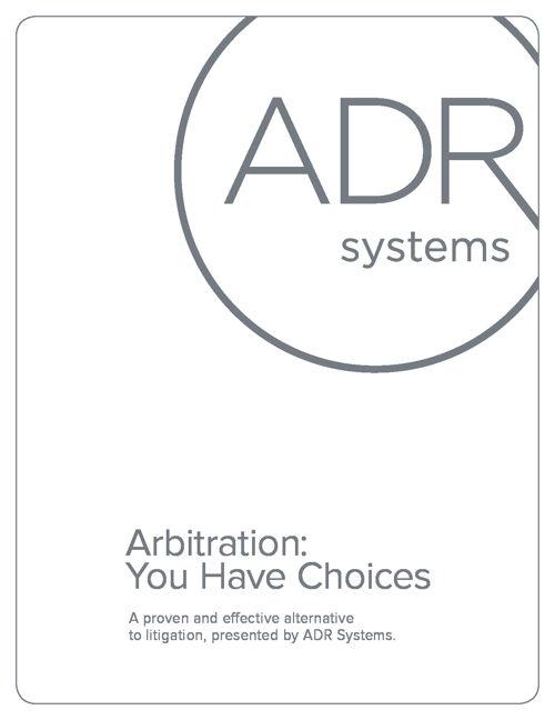 Arbitration Brochure