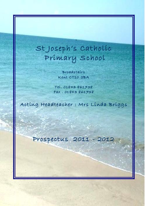 St Joseph's Prospectus