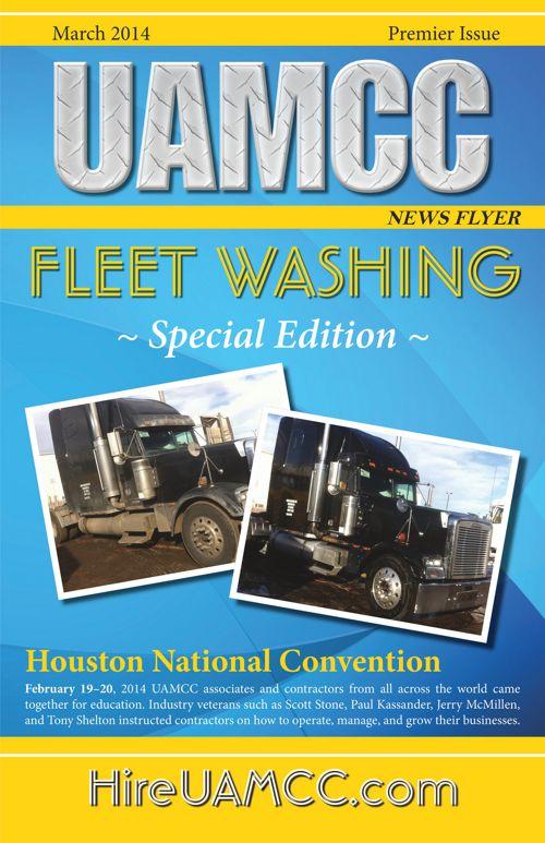 Newsletter 1 Fleet Washing