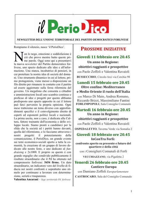 Il Periodico - Gennaio 2016