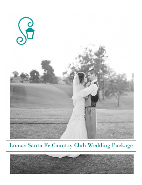 Lomas Santa Fe Country Club Wedding Package