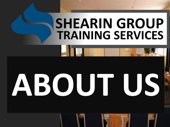 Shearin Group Training Services: About Us