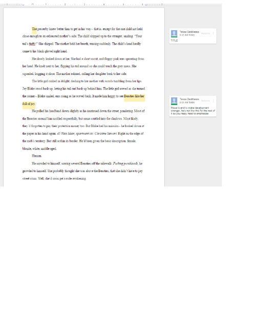 EDITS - Google Docs